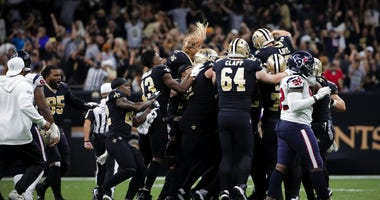 Houston Texans at New Orleans Saints