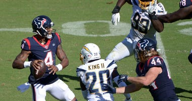 Houston Texans at Los Angeles Chargers