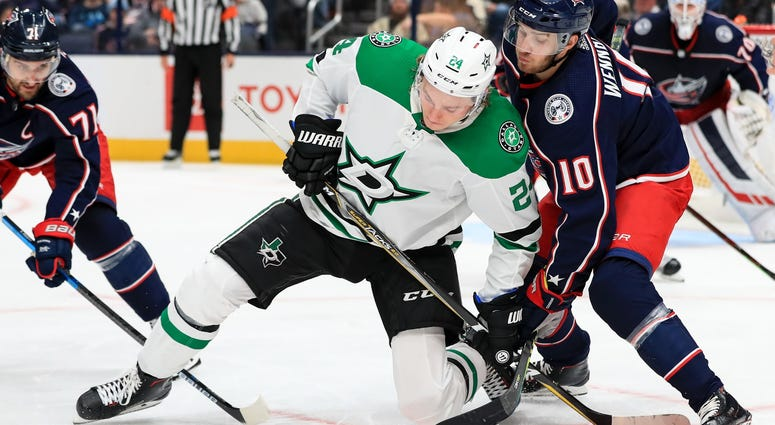 Dallas Stars at Columbus Blue Jackets