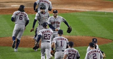 Houston Astros at New York Yankees
