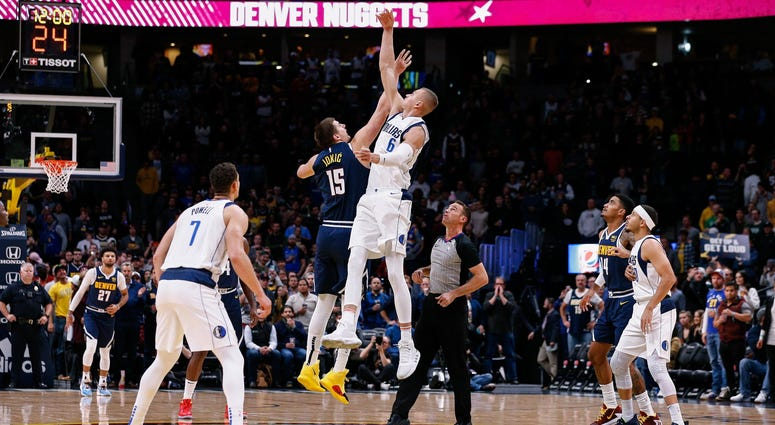 Dallas Mavericks at Denver Nuggets