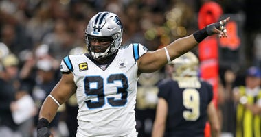 Carolina Panthers defensive tackle Gerald McCoy