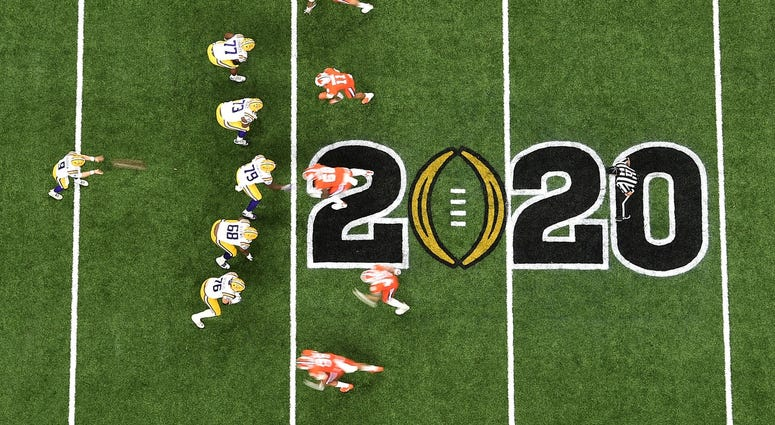 College Football Playoff National Championship-Clemson vs Louisiana State