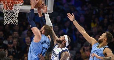 Memphis Grizzlies at Dallas Mavericks