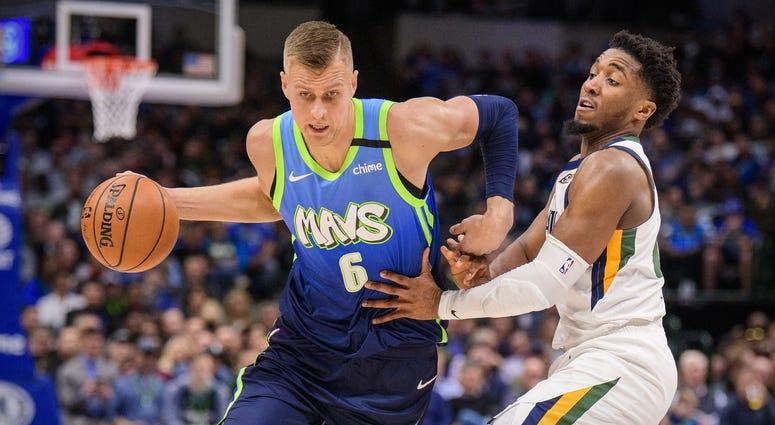 Utah Jazz at Dallas Mavericks