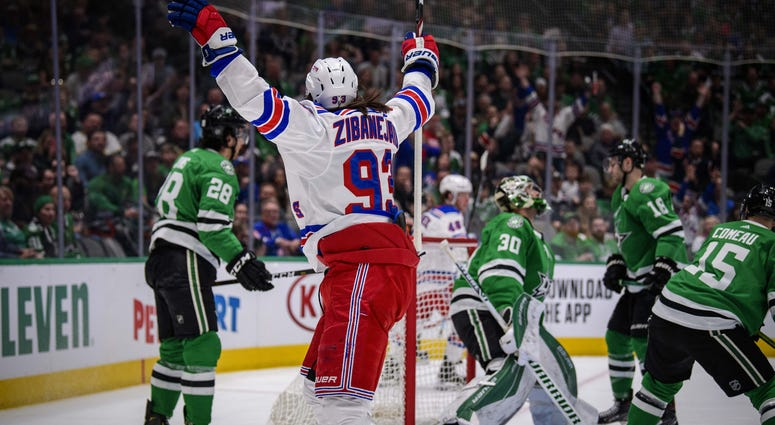 New York Rangers at Dallas Stars