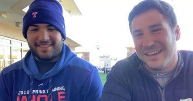 Jose Trevino And Jared Sandler
