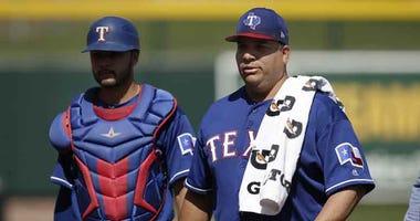 Texas Rangers starting pitcher Bartolo Colon