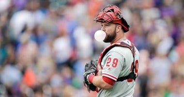 Philadelphia Phillies catcher Cameron Rupp