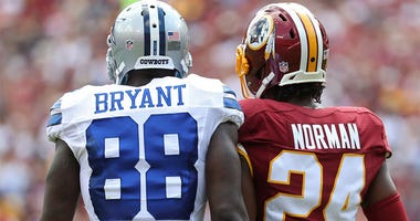 Dez Bryant And Josh Norman