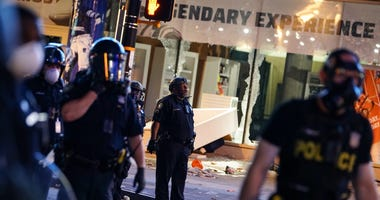 College Football Hall of Fame Damaged During George Floyd Protests in Atlanta