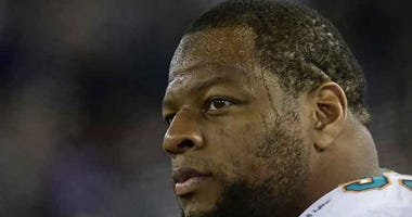 Miami Dolphins defensive tackle Ndamukong Suh