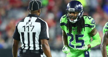 NFL: Seattle Seahawks at Arizona Cardinals: Richard Sherman