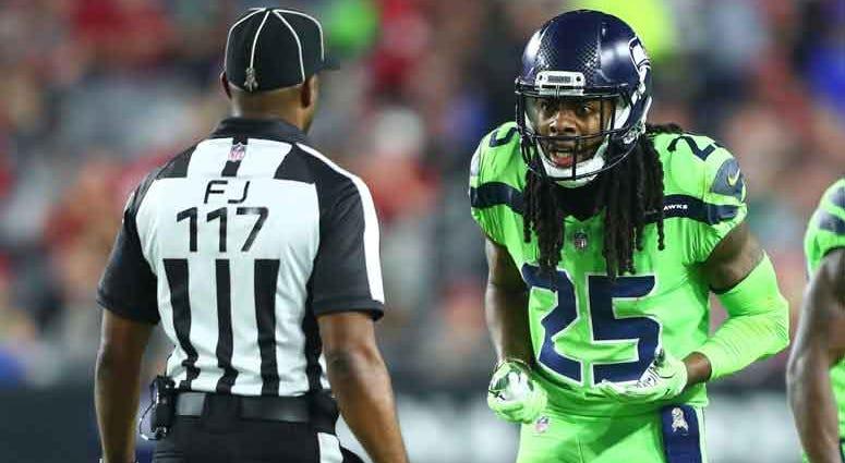 NFL: Seattle Seahawks at Arizona Cardinals: Richard Sherman