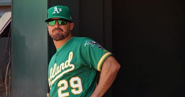 A's Coach Claims Malicious-Appearing Salute Not What It Looks Like