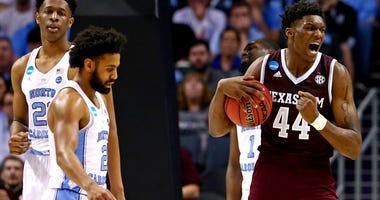 NCAA Tournament-Second Round-North Carolina vs Texas A&M