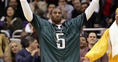 Eagles Add Kobe Bryant Memorial in NovaCare Complex