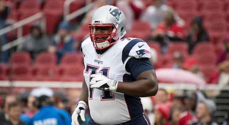 New England Patriots offensive tackle Cameron Fleming