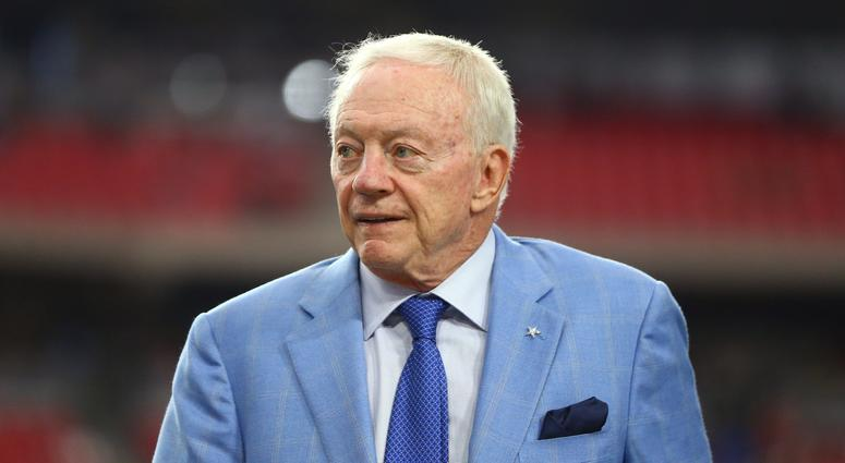 Dallas Cowboys Owner Jerry Jones