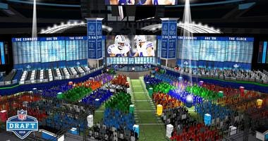 NFL Draft Interior Stage
