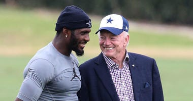 Dez Bryant & Jerry Jones