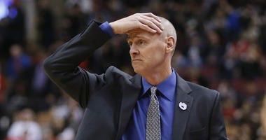 Dallas Mavericks head coach Rick Carlisle