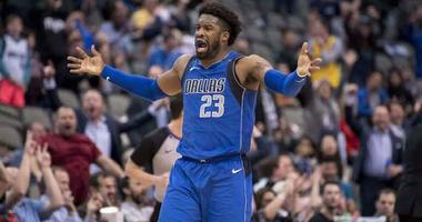 Dallas Mavericks guard Wesley Matthews