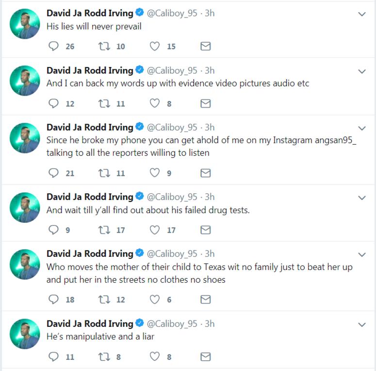 David Irving Tweets
