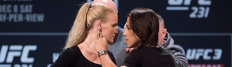 UFC: Valentina Shevchenko vs Joanna Jedrzejczyk