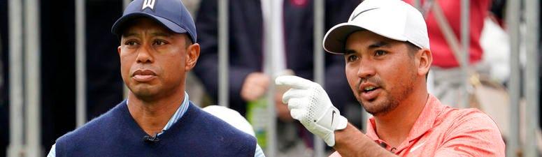 Jason Day & Tiger Woods