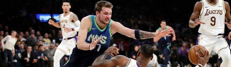Luka Doncic And Mavs End Laker Win Streak