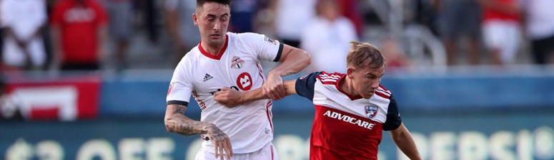 Badji Scores Twice, FC Dallas Beats Toronto FC 3-0