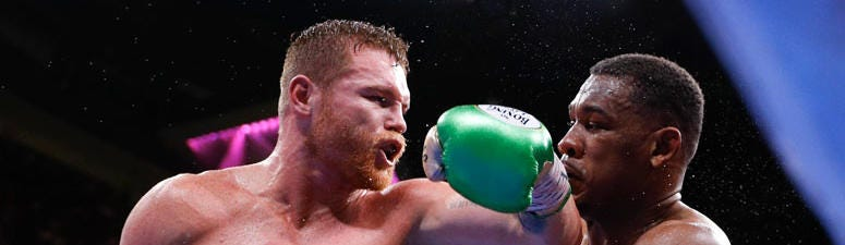 Canelo Alvarez Beats Jacobs In Middleweight Title Fight