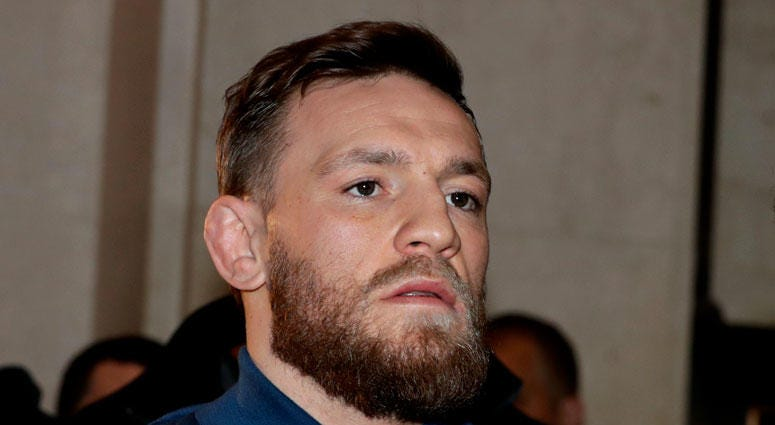 AP Conor McGregor