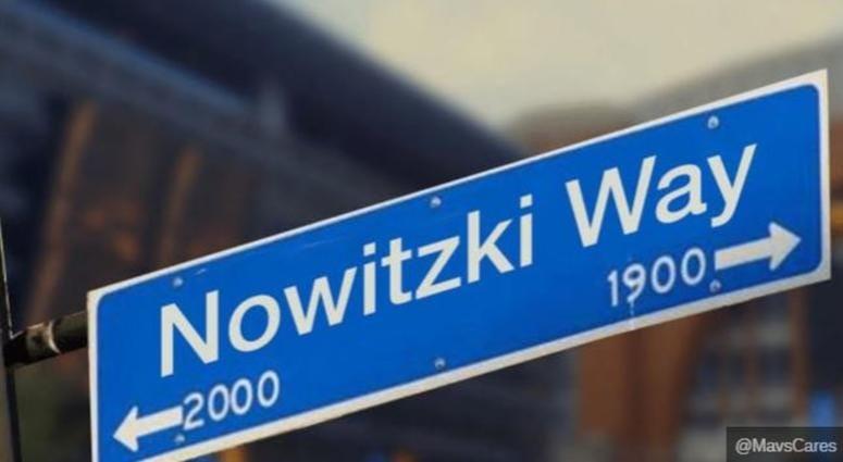 Nowitzki Way