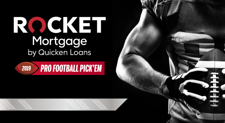 Rocket Mortgage by Quicken Loans 2019 Pro Football Pick'Em