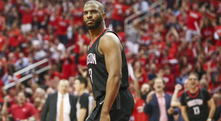 Houston Rockets guard Chris Paul