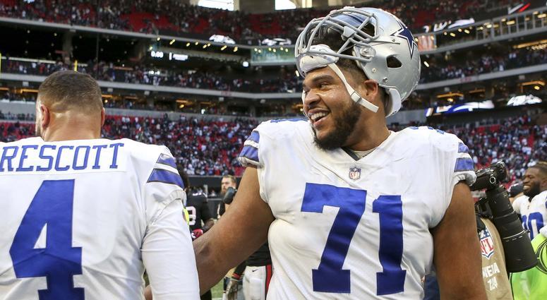 Cowboys offensive tackle La'el Collins