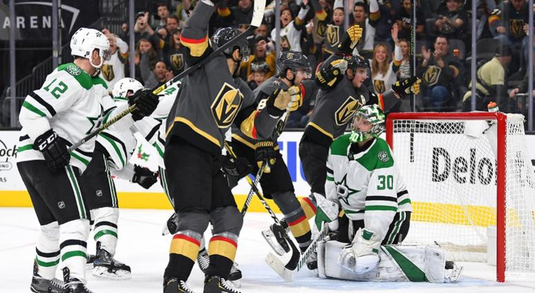 Dallas Stars at Vegas Golden Knights