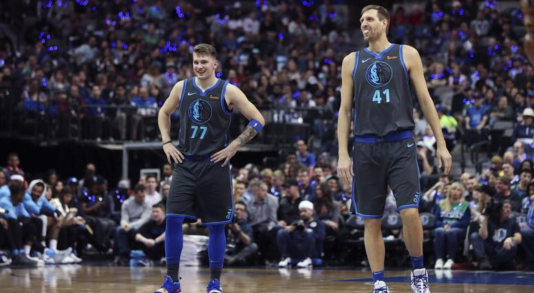 Luka Doncic and Dirk