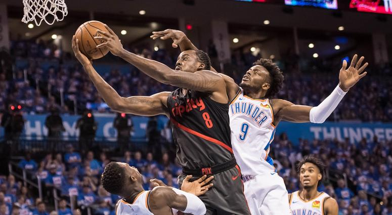 Portland Trail Blazers at Oklahoma City Thunder