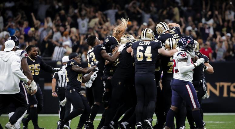 Houston Texans at New Orleans Saints