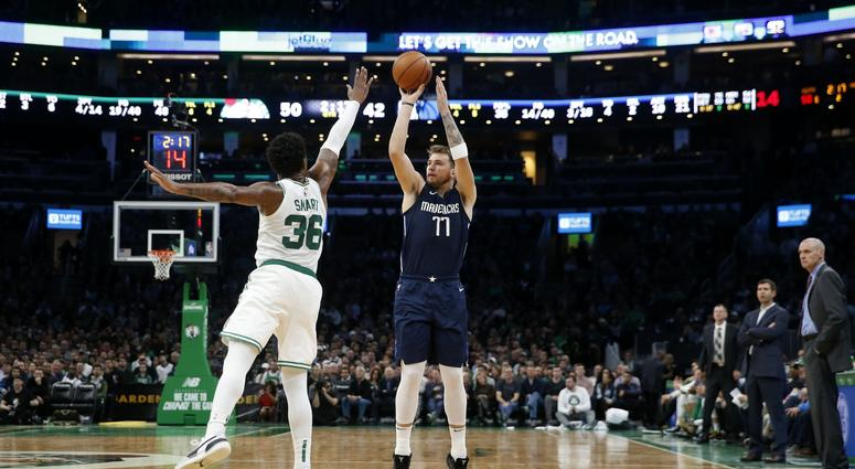 Dallas Mavericks at Boston Celtics