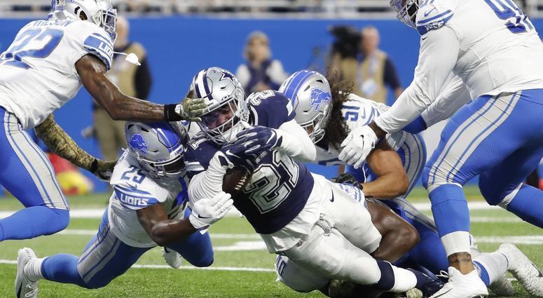 Dallas Cowboys at Detroit Lions