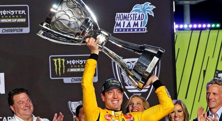 NASCAR Cup Series driver Kyle Busch