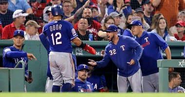 Texas Rangers vs Boston Red Sox