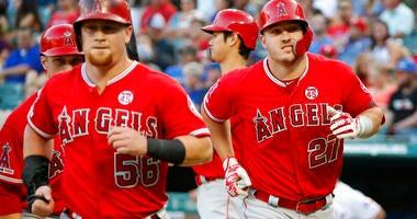Angels vs Rangers
