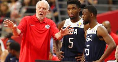 United States' coach Gregg Popovich