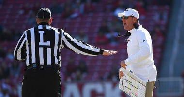 Arkansas coach Chad Morris