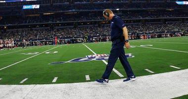 Dallas Cowboys head coach Jason Garrett